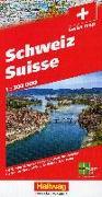 Schweiz 2021 Strassenkarte 1:303 000. 1:303'000