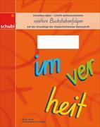 Deutschschweizer Basisschrift - Weitere Buchstabenfolgen 3.