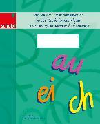 Mock B: Deutschschweizer Basisschrift -erste Buchstabenfolgen. 2. Schuljahr. Ar
