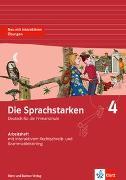 Die Sprachstarken 4. Schuljahr. Arbeitsheft
