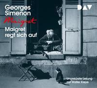 Cover-Bild zu Maigret regt sich auf von Simenon, Georges