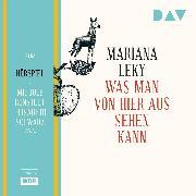 Cover-Bild zu Was man von hier aus sehen kann (Audio Download) von Leky, Mariana