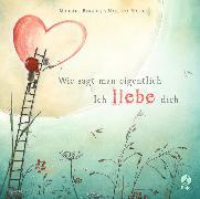 Cover-Bild zu Engler, Michael: Wie sagt man eigentlich: Ich liebe dich (Mini-Ausgabe)