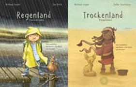 Cover-Bild zu Engler, Michael: Regenland + Trockenland - Ein Wendebuch