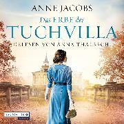 Cover-Bild zu Das Erbe der Tuchvilla (Audio Download) von Jacobs, Anne