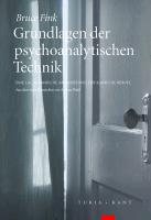 Cover-Bild zu Fink, Bruce: Grundlagen der psychoanalytischen Technik