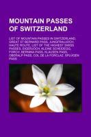 Cover-Bild zu Mountain passes of Switzerland