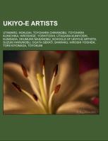 Cover-Bild zu Ukiyo-e artists