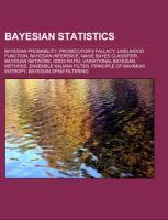 Cover-Bild zu Bayesian statistics