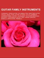 Cover-Bild zu Guitar family instruments