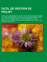 Cover-Bild zu Outil de gestion de projet
