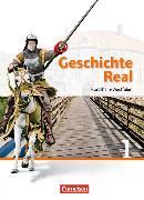 Cover-Bild zu Geschichte real 1. NA. Schülerbuch NW von Brokemper, Peter