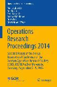 Cover-Bild zu Operations Research Proceedings 2014 (eBook) von Lübbecke, Marco (Hrsg.)