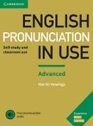 Cover-Bild zu Hewings, Martin: English Pronunciation in Use. Advanced. Book with answers and downloadable audio