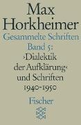 Cover-Bild zu Horkheimer, Max: Gesammelte Schriften in 19 Bänden