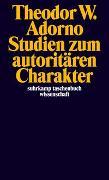 Cover-Bild zu Adorno, Theodor W.: Studien zum autoritären Charakter