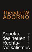 Cover-Bild zu Adorno, Theodor W.: Aspekte des neuen Rechtsradikalismus