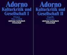 Cover-Bild zu Adorno, Theodor W.: Gesammelte Schriften in 20 Bänden