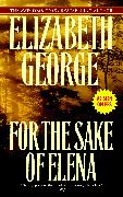 Cover-Bild zu George, Elizabeth: For the Sake of Elena