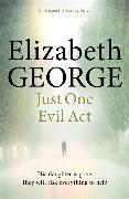Cover-Bild zu George, Elizabeth: Just One Evil Act