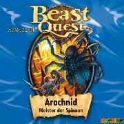 Cover-Bild zu Beast Quest (11): Arachnid, Meister der Spinnen (Audio Download) von Blade, Adam