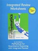 Cover-Bild zu Bennett, Jeffrey: Worksheets for Using and Understanding Mathematics with Integrated Review