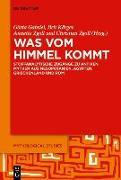 Cover-Bild zu Gabriel, Gösta Ingvar (Hrsg.): Was vom Himmel kommt