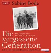 Cover-Bild zu Bode, Sabine: Die vergessene Generation