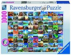 Cover-Bild zu 99 Beautiful Places on Earth. Puzzle