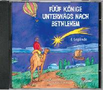 Cover-Bild zu Füüf Könige unterwägs nach Bethlehem von Huber, Patrick (Idee von)