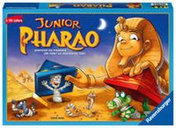 Cover-Bild zu Baars, Gunter: Ravensburger 21435 - Junior Pharao - Gesellschaftsspiel für die ganze Familie, Junior Version ,Spiel für Erwachsene und Kinder ab 5 Jahren, für 2-4 Spieler - Schätze suchen