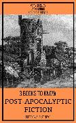 Cover-Bild zu 3 books to know Post-apocalyptic fiction (eBook) von Shelley, Mary