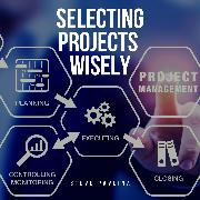 Cover-Bild zu Selecting Projects Wisely (Audio Download) von Pavlina, Steve