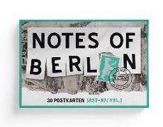 Cover-Bild zu Nist, Joab (Hrsg.): Notes of Berlin 30er Postkartenbox