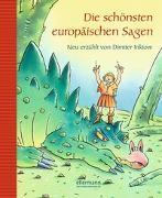 Cover-Bild zu Die schönsten europäische Sagen von Inkiow, Dimiter