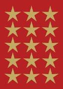 Cover-Bild zu HERMA Schmucketiketten Decor Weihnachten, Ø 22 mm gold