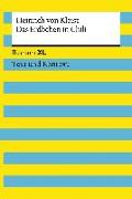 Cover-Bild zu Das Erdbeben in Chili. Textausgabe mit Kommentar und Materialien von Kleist, Heinrich von