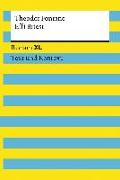 Cover-Bild zu Effi Briest. Textausgabe mit Kommentar und Materialien von Fontane, Theodor