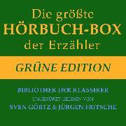 Cover-Bild zu Die größte Hörbuch-Box der Erzähler: Grüne Edition (Audio Download) von Hoffmann, E.T.A.