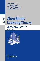 Cover-Bild zu Auer, Peter (Hrsg.): Algorithmic Learning Theory