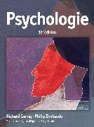 Cover-Bild zu Richard Gerrig Philip Zimbard: Psychologie 18e éd