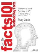 Cover-Bild zu Myers, David G.: Studyguide for Myers Psychology for AP* by Myers, David G, ISBN 9781429244367