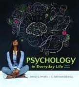 Cover-Bild zu DeWall, C. Nathan: Psychology in Everyday Life (High School)