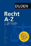 Cover-Bild zu eBook Duden Recht A - Z