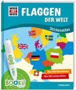 Cover-Bild zu BOOKii® WAS IST WAS Stickeratlas Flaggen der Welt von Baur, Dr. Manfred