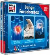 Cover-Bild zu WAS IST WAS 3-CD-Hörspielbox Junge Forscher von Baur, Dr. Manfred