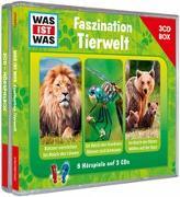 Cover-Bild zu WAS IST WAS 3-CD-Hörspielbox Faszination Tierwelt von Baur, Dr. Manfred