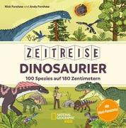 Cover-Bild zu Zeitreise Dinosaurier. 100 Spezies auf 180 Zentimetern von Exley, William