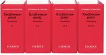 Cover-Bild zu Consbruch, Johannes: Kreditwesengesetz - Kreditwesengesetz
