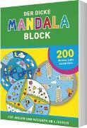 Cover-Bild zu Der dicke Mandala-Block
